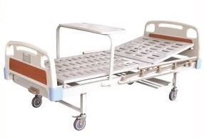 Dp-A102-ABS-Single-Crank-Manual-Medical-Bed-Price